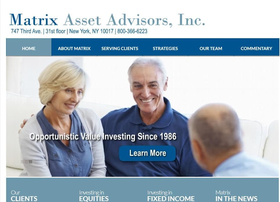 Matrix Asset Advisors