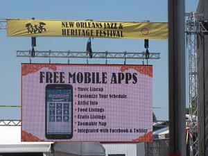 Jazz Fest app