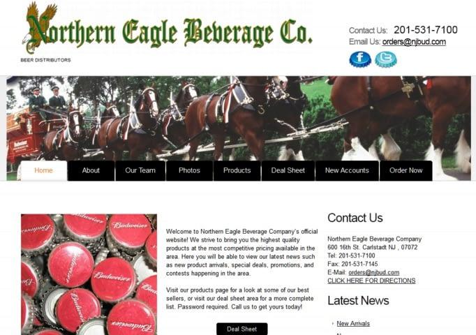 northern-eagle-website