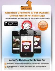 smartphone grooming app
