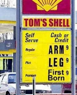 Pain At The Pump - Another reason why SEM is key to retail survival.