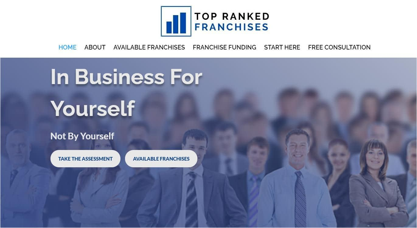 website developer for franchise brokers