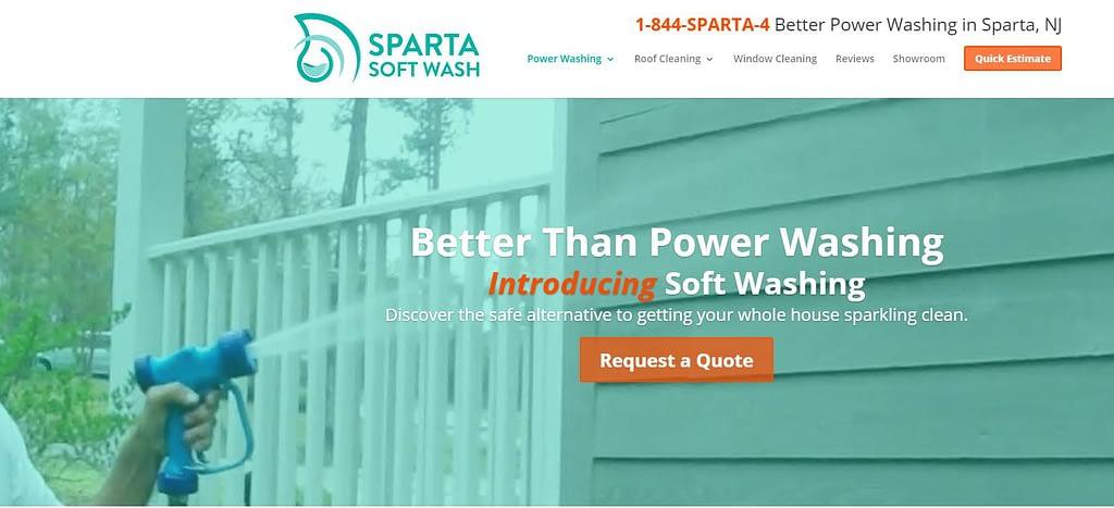 website designer New Jersey Sparta Spoftwash