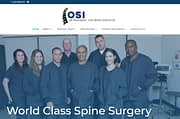New Spine Surgery Website Launched