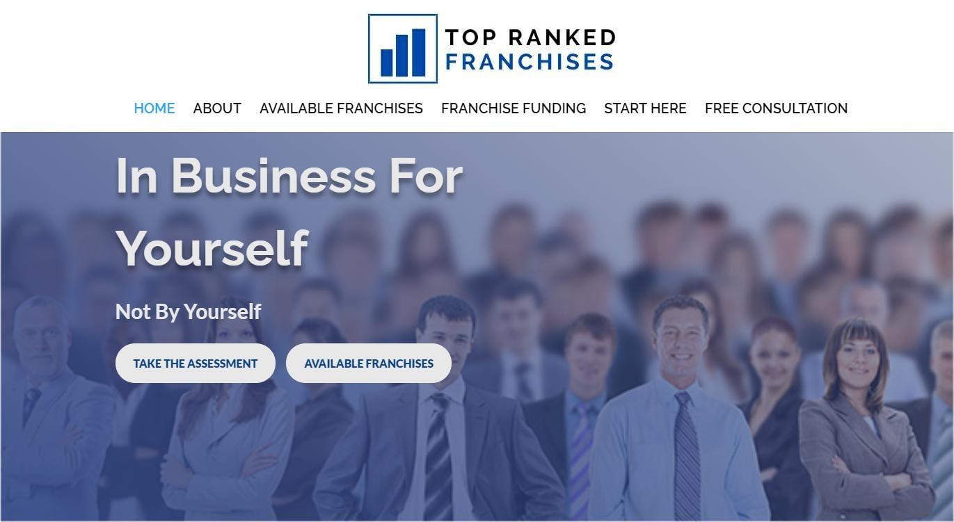 website developer for franchise brokers